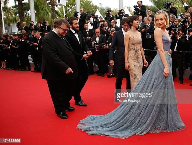 Offcial Jury Members Guillermo del Toro Jake Gyllenhaal Joel Coen Sophie Marceau and Sienna Miller attend the closing ceremony and Premiere of 'La...