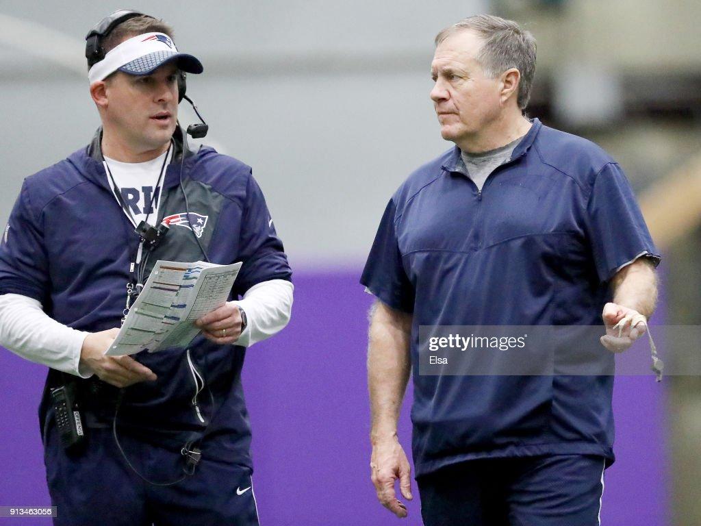 Super Bowl LII - New England Patriots - Practice : News Photo