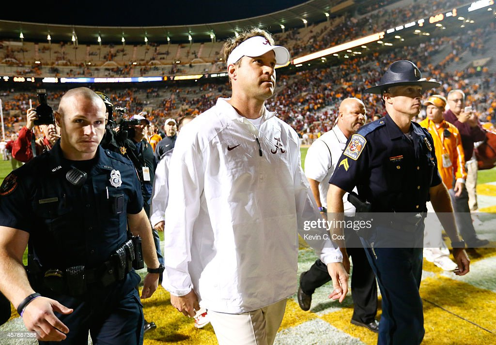 Alabama v Tennessee : News Photo