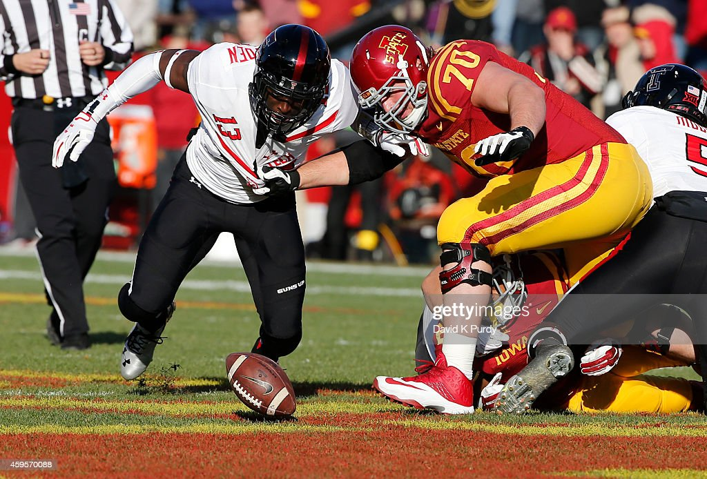 Texas Tech v Iowa State : News Photo
