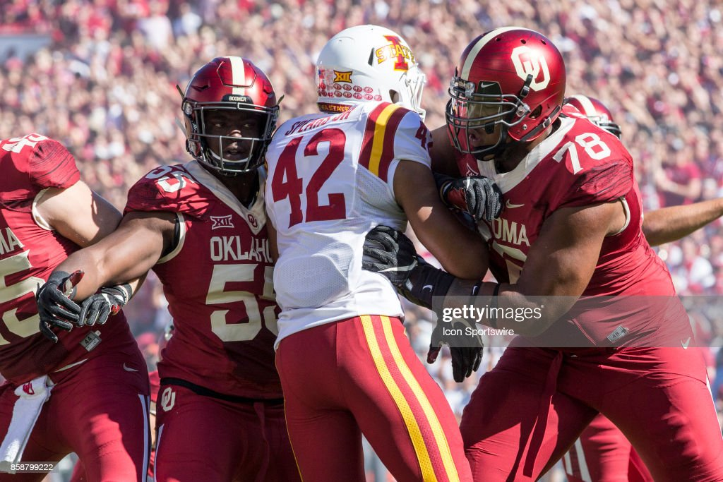 COLLEGE FOOTBALL: OCT 07 Iowa State at Oklahoma : News Photo