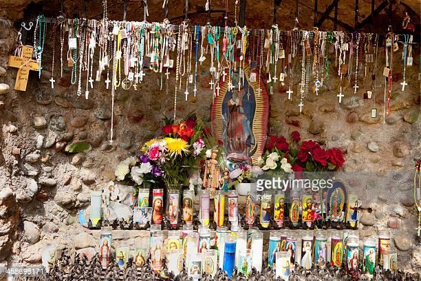 perfezionate a el santuario di chimayó - madonna del rosario foto e immagini stock