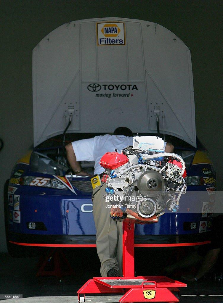 Daytona 500 Practice : News Photo
