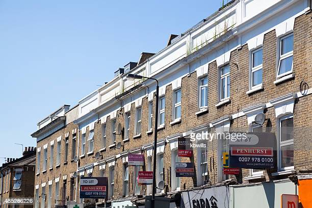 office and apartments to let in battersea london - house rental stock photos and pictures