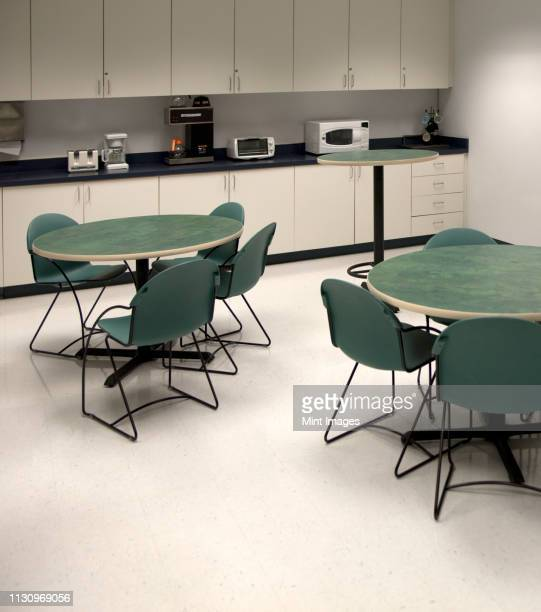 office break room - canteen stock pictures, royalty-free photos & images