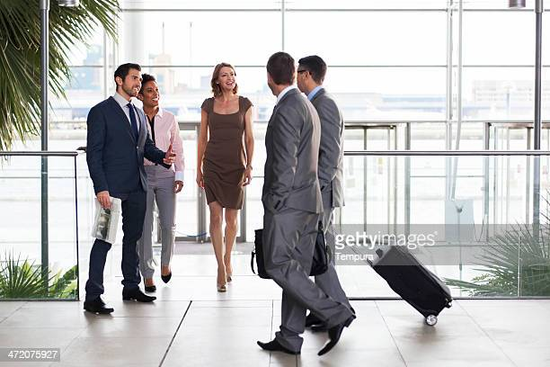 office building group of businessman. - london ontario stock photos and pictures