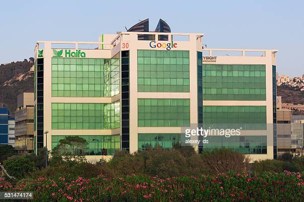 Bürogebäude in Haifa statt. Vorderseite Blick