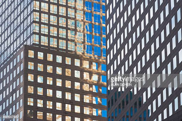 Office building, New York City, New York State, USA