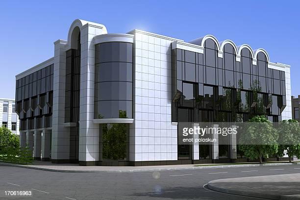 office edifício - alumínio - fotografias e filmes do acervo