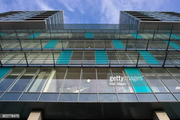 Office building (taken from street level, looking skyward)