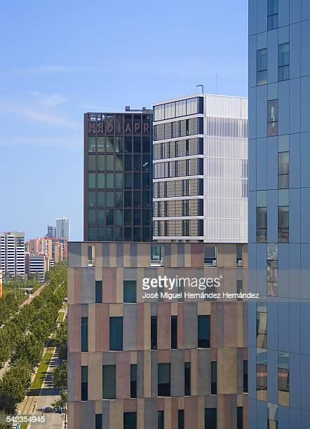 Office buildings,  Barcelona, Spain