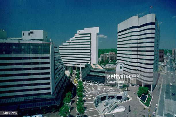 Office buildings in Bethesda, Maryland