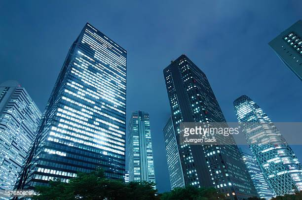 Office Buildings in Shinjuku
