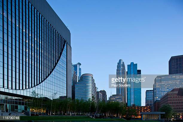 office buildings, minneapolis, minnesota - minnesota stock pictures, royalty-free photos & images