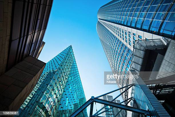 office buildings - roppongi hills stock pictures, royalty-free photos & images