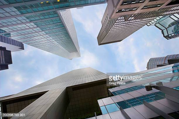 """office builidings, low angle view - """"greg pease"""" stock pictures, royalty-free photos & images"""