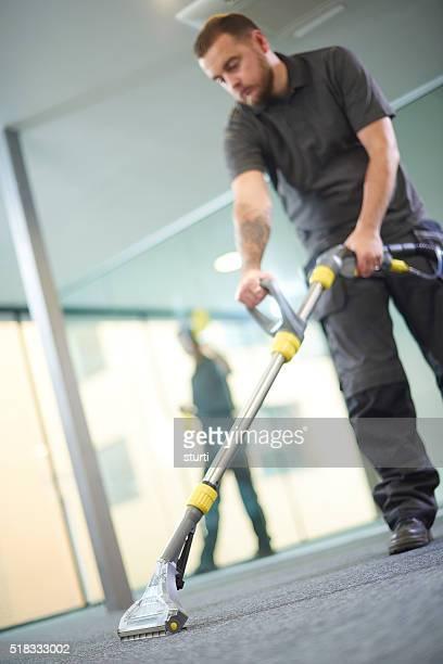 Limpieza de oficinas contratistas