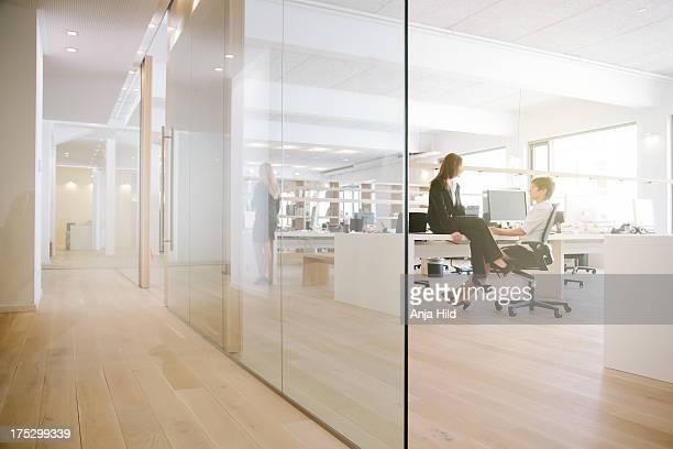 Office conversation