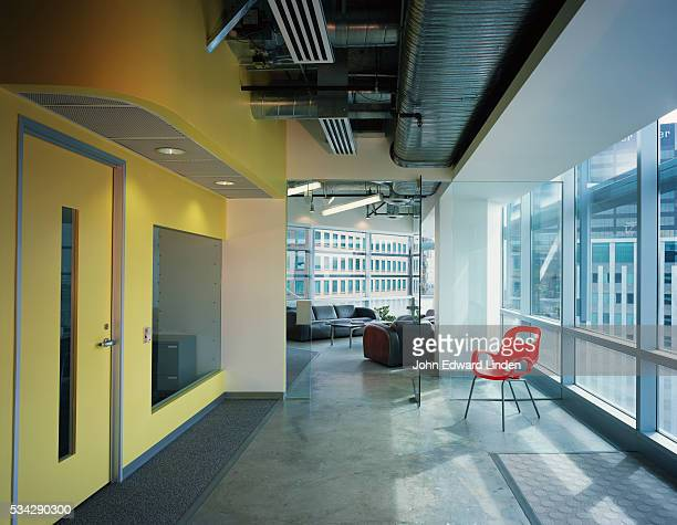 Office Corridor in Nexspace Office Building