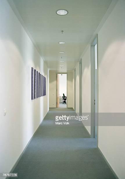 A office corridor
