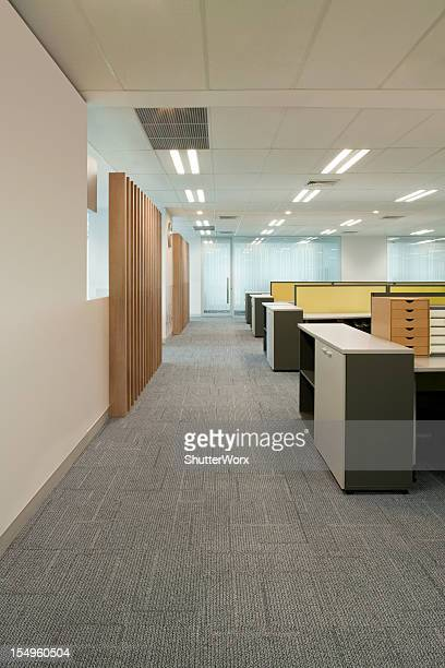 Office Corridor & Work Stations