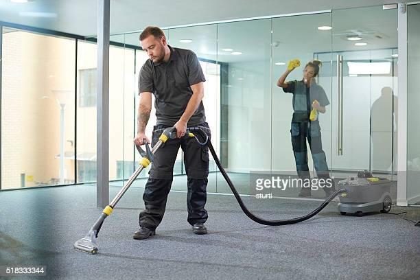 office deep clean
