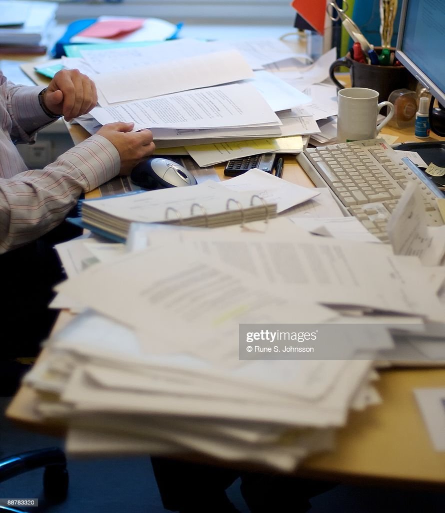 Office desk : Stock Photo