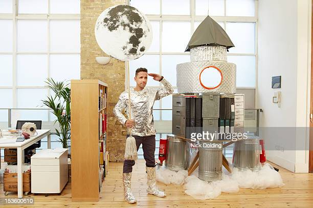 office escapism 22 - space mission stock pictures, royalty-free photos & images