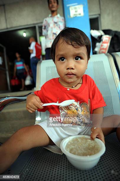 Office for the Coordination of Humanitarian Affairs report on Haiyan typhoon reveals that the children surviving the typhoon are affected the most by...