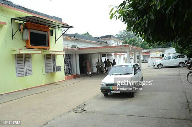 BJP office had desolate view after party faired poorly in Bihar assembly bypolls on August 25 2014 in Patna India RJDJDUCongress alliance won six...