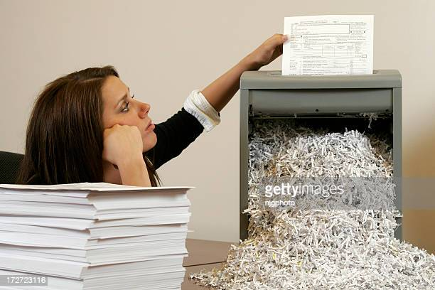 office identity theft - shredded stock pictures, royalty-free photos & images