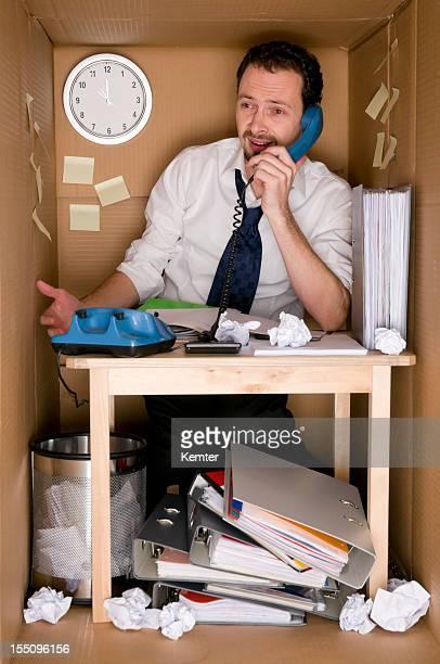 Bureau dans une boîte