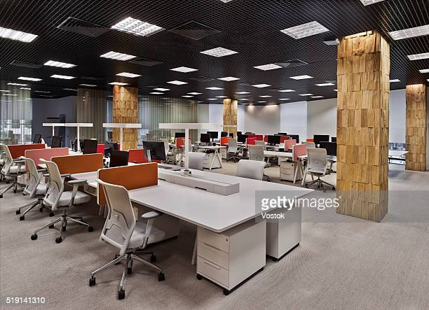 Office interior in Moscow