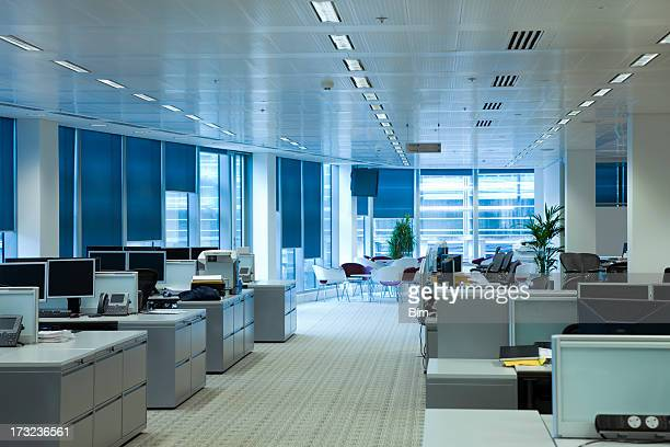 Office interior, workplaces