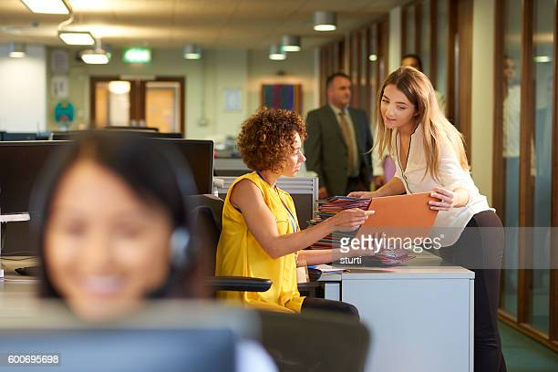 office junior - secretary stock photos and pictures