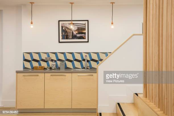 Office kitchen Alfred Mews Offices London United Kingdom Architect Cove Burgess Architects 2016