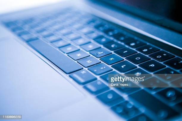 office laptop - computer keyboard stock pictures, royalty-free photos & images