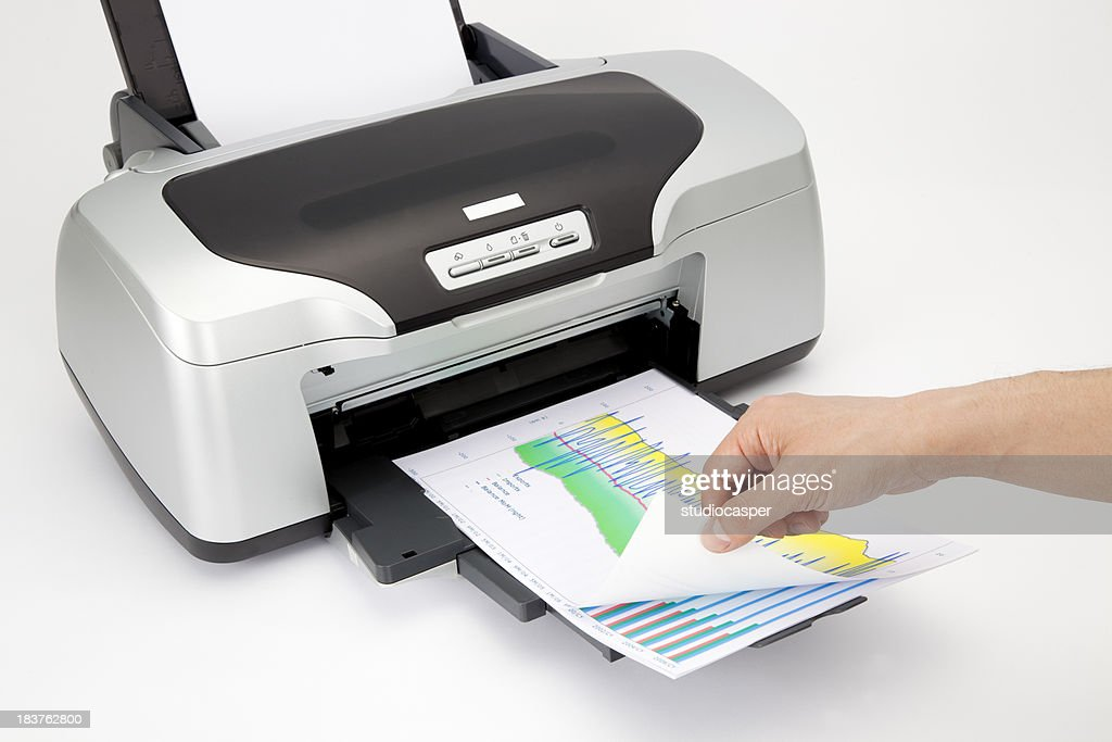office laser printer : Stock Photo