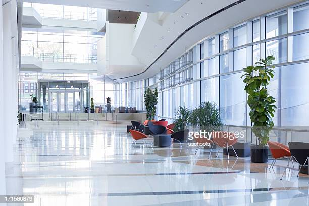 office lobby - hotel lobby stock pictures, royalty-free photos & images