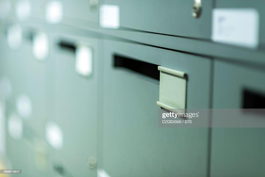 Office mailbox : Stock Photo