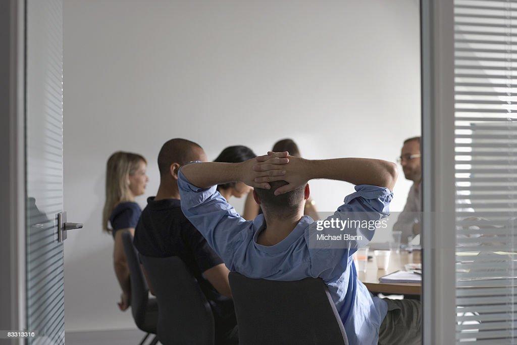 office meeting : Stock Photo