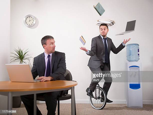 office multi-tasker - multi tasking stock pictures, royalty-free photos & images