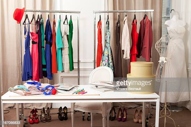 Office of a fashion stylist