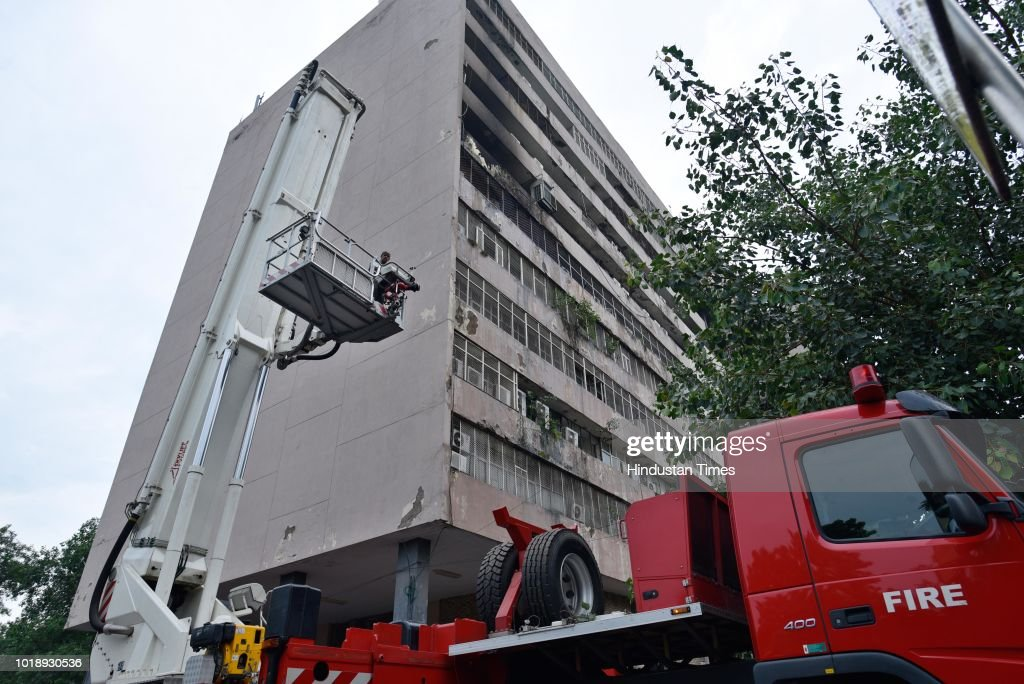 Minor Fire Breaks Out At Enforcement Directorate Headquarters