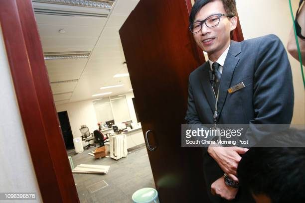 Office of lawmakers Sixtus Baggio Leung Chunghang and Yau Waiching at LegCo in Tamar Youngspiration's Leung and Yau were disqualified by the High...
