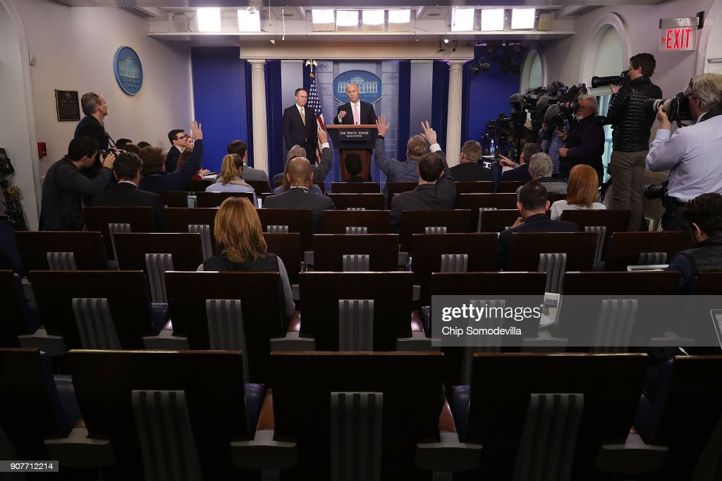OMB Director and Legislative Affairs Director Give Press Briefing
