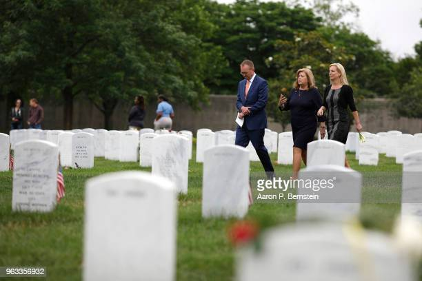 Office of Management and Budget Director Mick Mulvaney Karen Kelly wife of White House Chief of Staff John Kelly and Homeland Security Secretary...