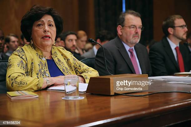 Office of Personnel Management Director Katherine Archuleta US Chief Information Officer Tony Scott and Assistant Homeland Security Secretary Andy...