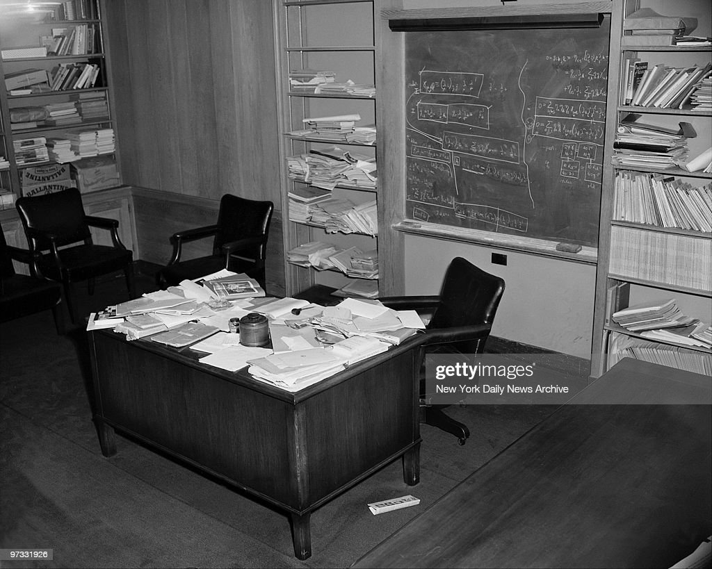 Office Of Physicist Albert Einstein That Is A Chair To Fill S