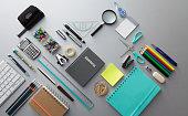 Office: Office Supplies Still Life